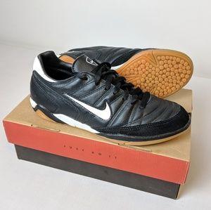 Nike, indoor soccer shoes, men's size 7 black